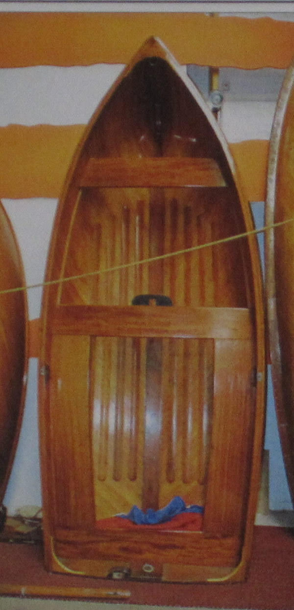 Uffa's Own dinghy